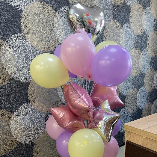 Набор воздушных шаров на стойке
