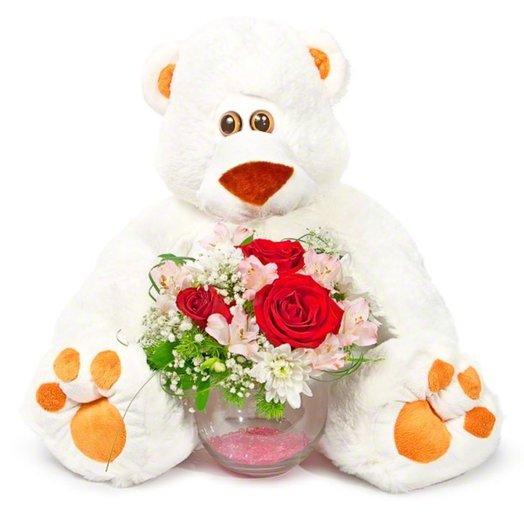 Композиция Я с тобой: букеты цветов на заказ Flowwow