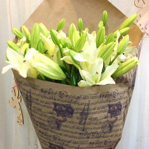 Букет Нежная мелодия: букеты цветов на заказ Flowwow