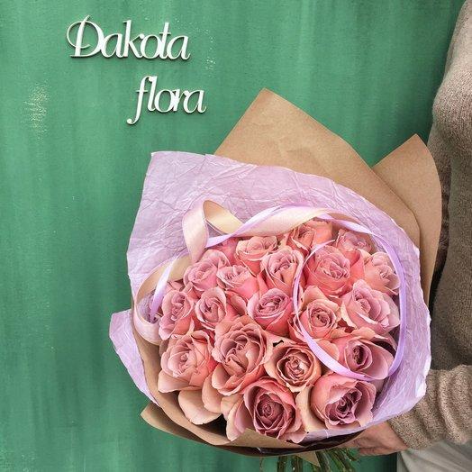 Букет роз сорта Кофе-латте: букеты цветов на заказ Flowwow