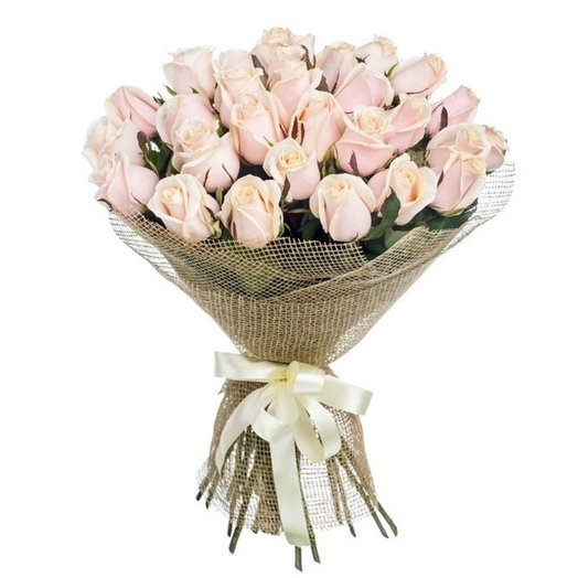25 long stemmed pink roses: flowers to order Flowwow