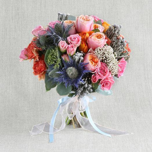 """Компактный букет """"Странный дневник"""": букеты цветов на заказ Flowwow"""