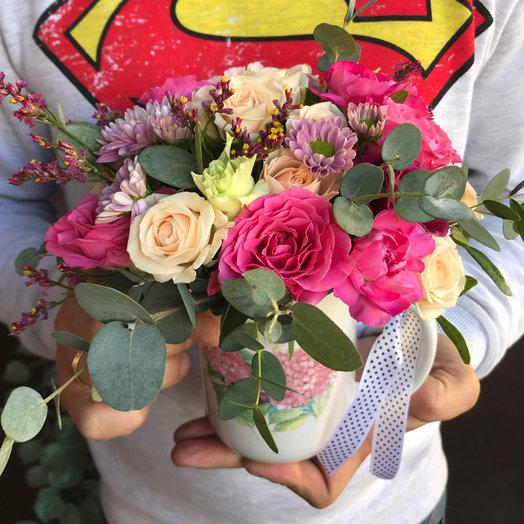 Идеальная чашка: букеты цветов на заказ Flowwow