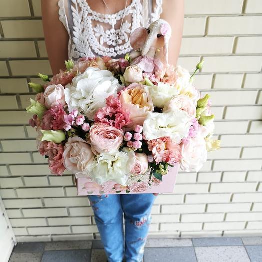 Розовый слон: букеты цветов на заказ Flowwow