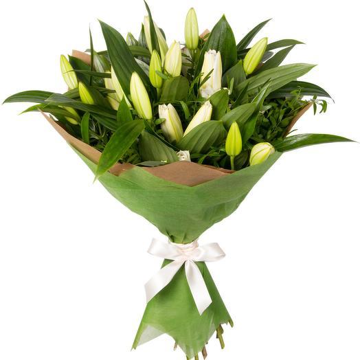 Букет из великолепных лилий: букеты цветов на заказ Flowwow
