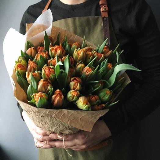 Хруст тюльпанов: букеты цветов на заказ Flowwow