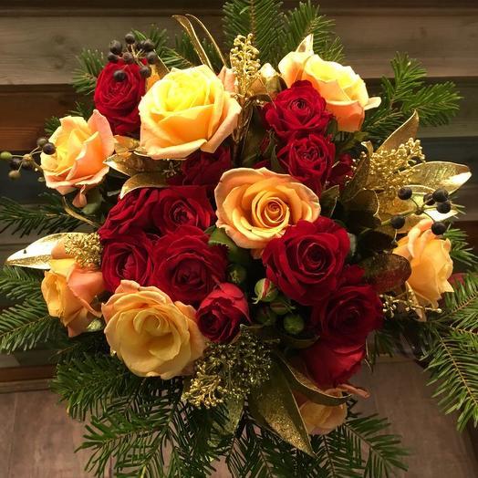 Фейерверк радости: букеты цветов на заказ Flowwow