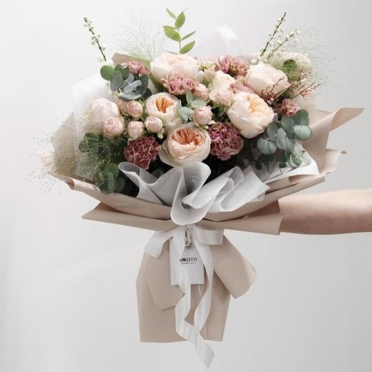 Biscuit: букеты цветов на заказ Flowwow