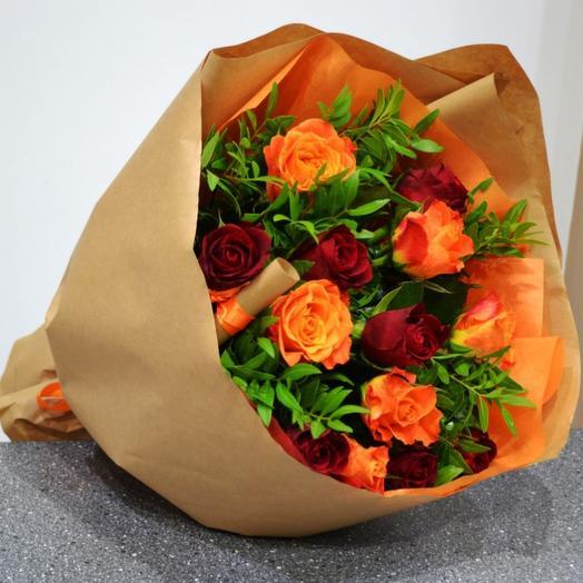 Рыжий комплимент: букеты цветов на заказ Flowwow