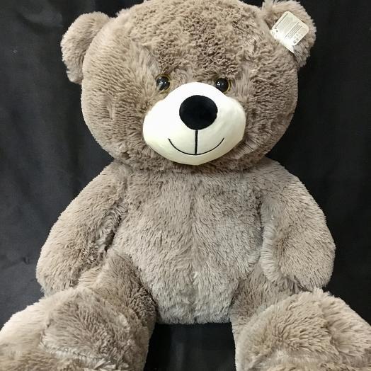 Медведь плюшевый Мирон: букеты цветов на заказ Flowwow