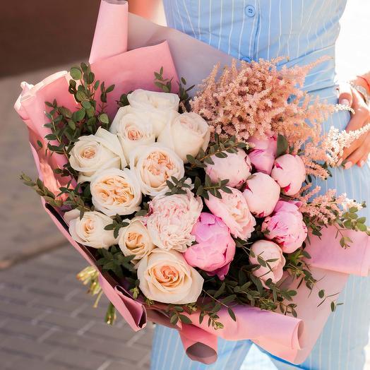 """Букет """"Розовый"""": букеты цветов на заказ Flowwow"""