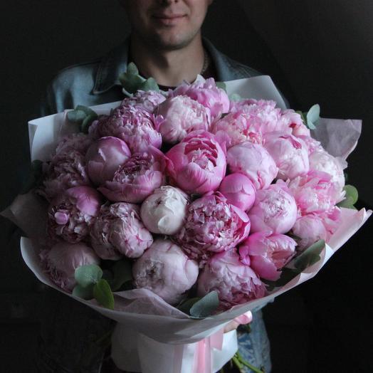 Розовый беспредел: букеты цветов на заказ Flowwow