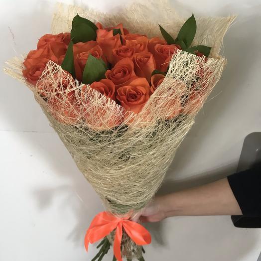 Букет из 29 роз вау