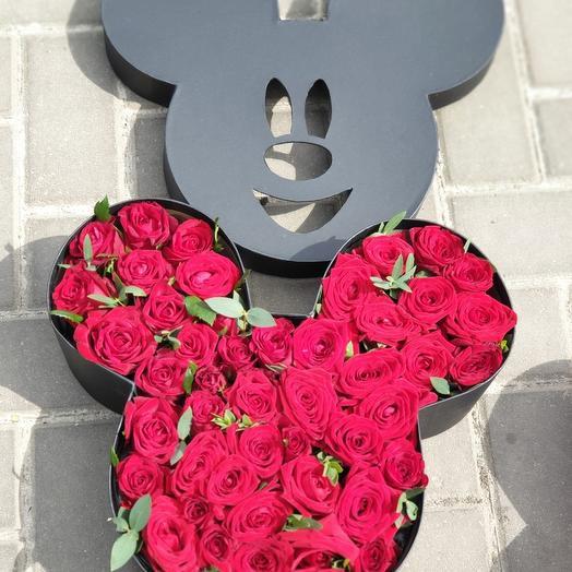 Микки): букеты цветов на заказ Flowwow