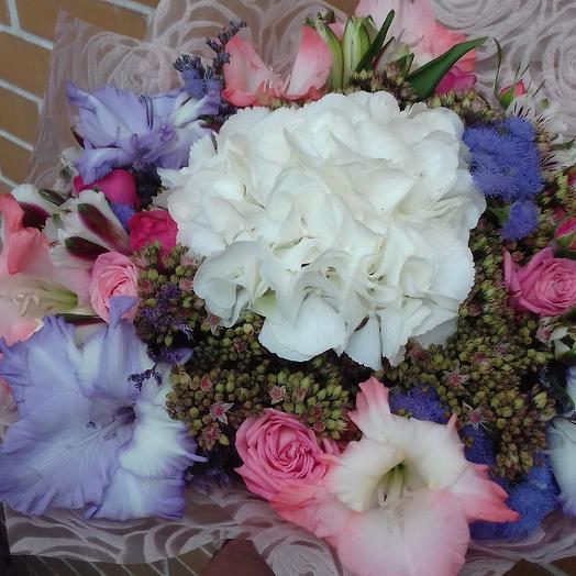 Цветочная акварель: букеты цветов на заказ Flowwow