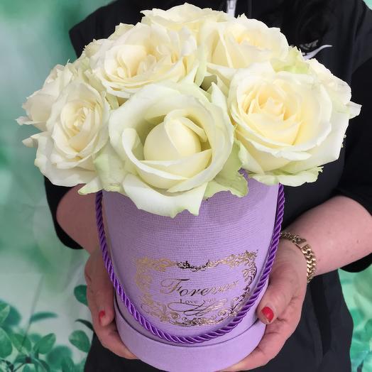 Коробка любви: букеты цветов на заказ Flowwow