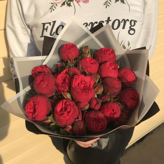 Букет из 15 ред пиано: букеты цветов на заказ Flowwow