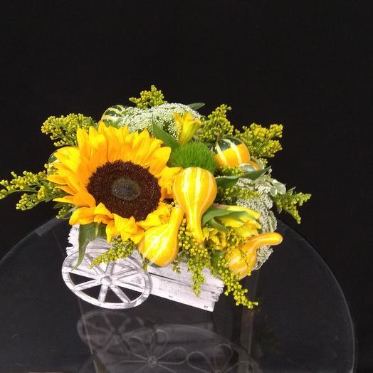 Букет - Дары осени: букеты цветов на заказ Flowwow