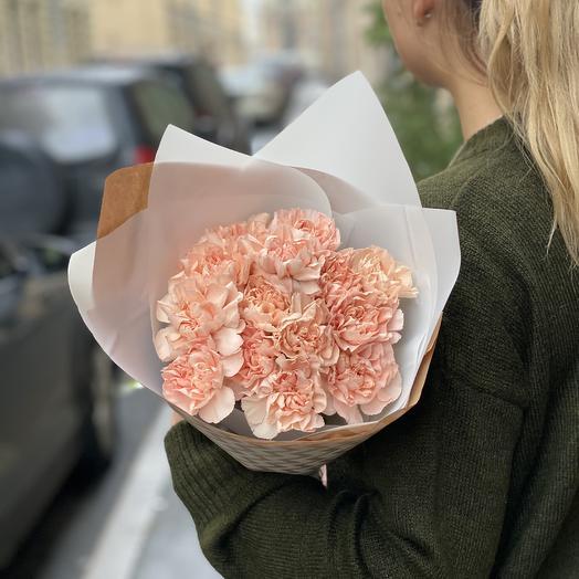 Пастельные диантусы: букеты цветов на заказ Flowwow