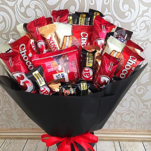 Red and black: букеты цветов на заказ Flowwow