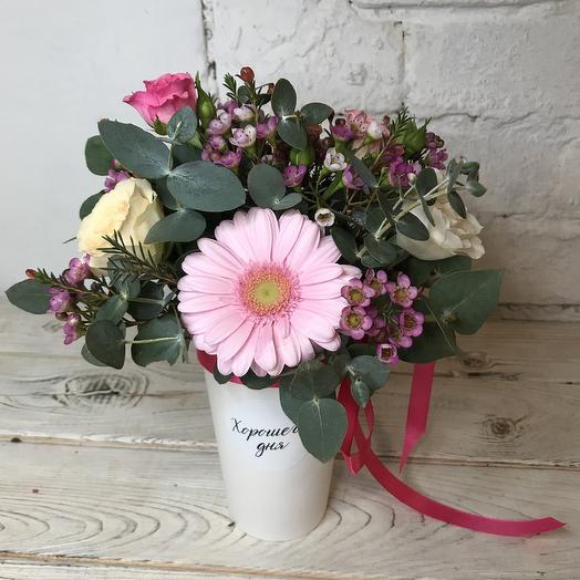 Хорошего дня, Татьяна: букеты цветов на заказ Flowwow