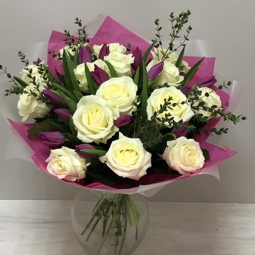 Брижит: букеты цветов на заказ Flowwow