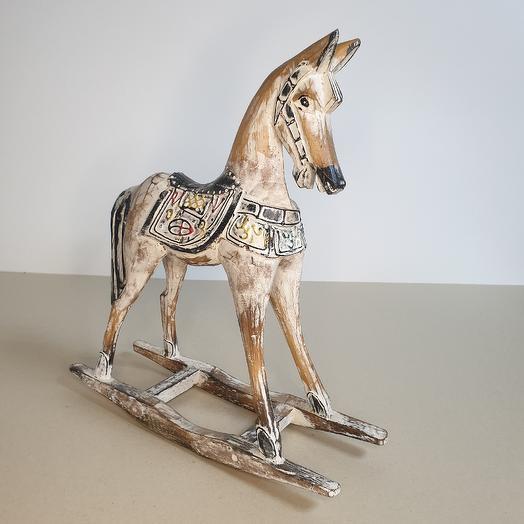 Лошадка деревянная: букеты цветов на заказ Flowwow