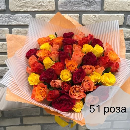 51 мини роза