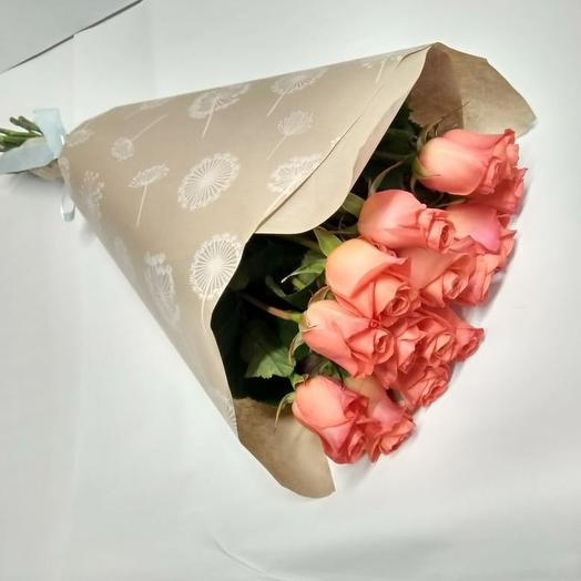 15 роз вау 60 см: букеты цветов на заказ Flowwow