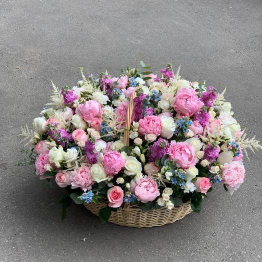 Сборная корзина: букеты цветов на заказ Flowwow