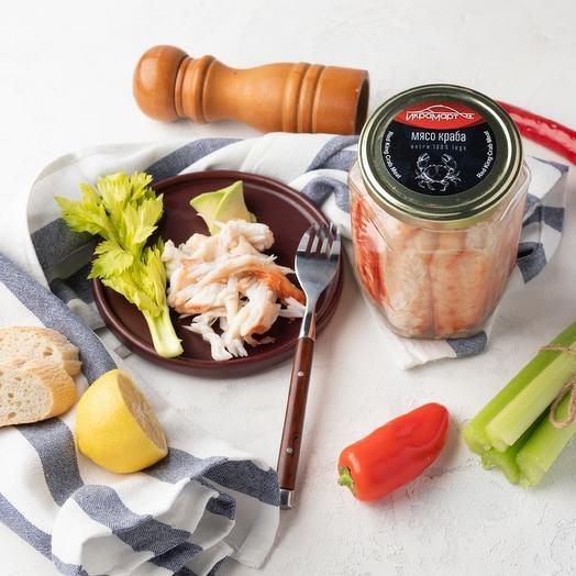 Мясо краба натуральное Премиум, Икрамарт, 770 грамм