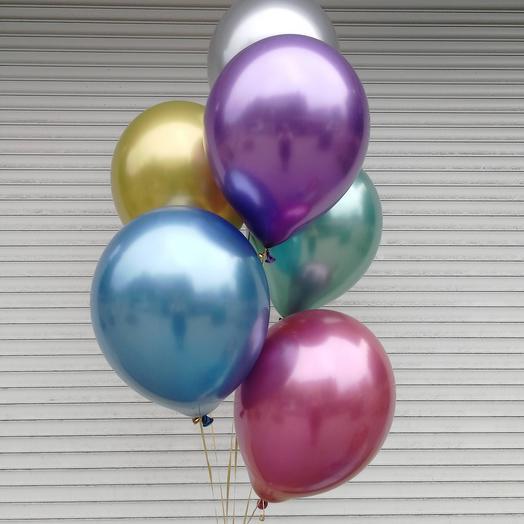 Гелевые шары 7 шт