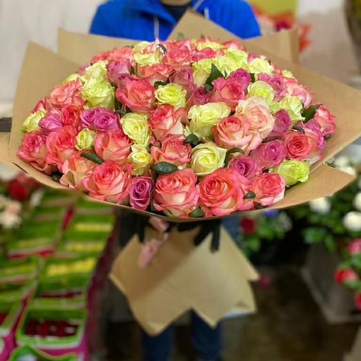 Микс роза