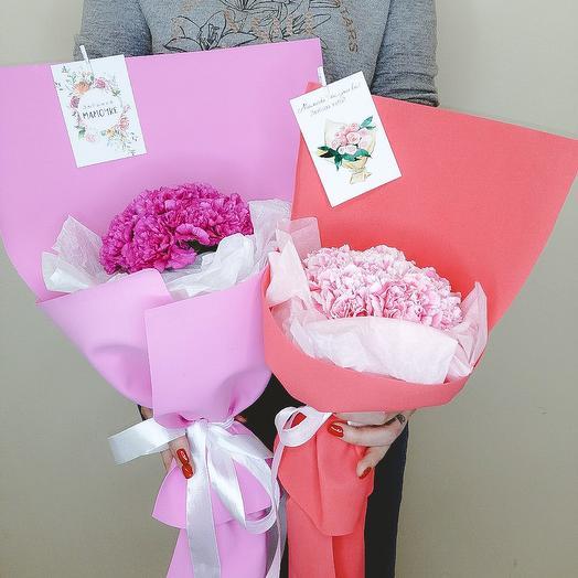 Букет Диантусов для Любимой Мамы (День Матери)