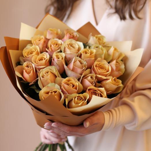 Букет из садовых роз