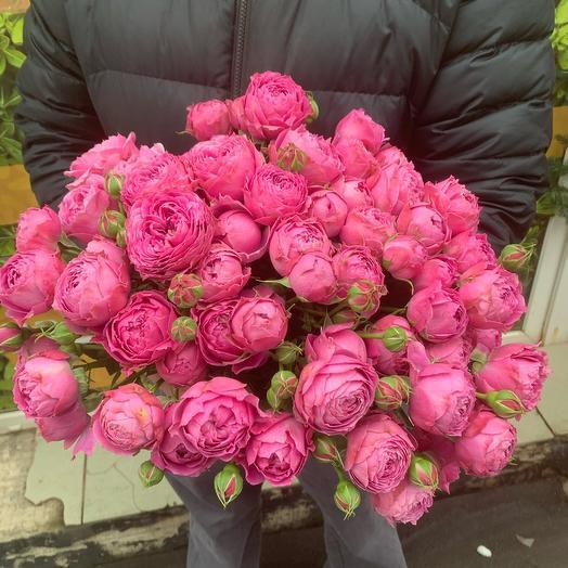 Роза Мисти баблз 40 см