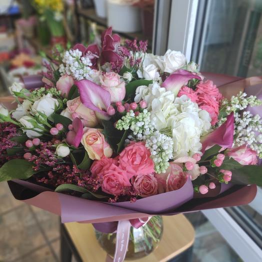 Букет цветов Эсмеральда