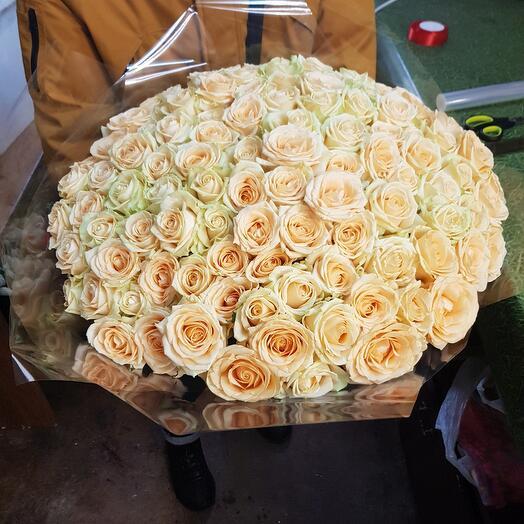 Персиковые роза