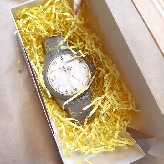 Часы с ароматом Крем-брюле