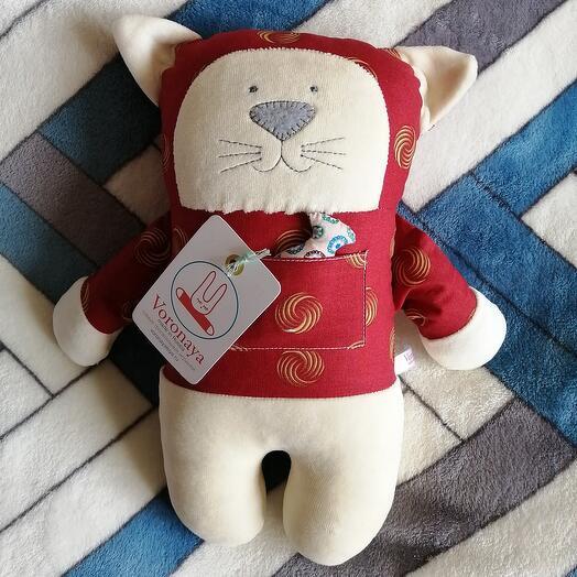 Дизайнерская игрушка VORONAYA TOYS BIG Котик 040508