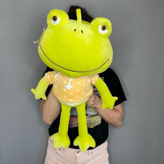 Лягушка с капюшоном