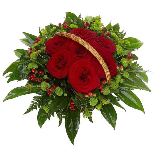 Корзина О чувствах: букеты цветов на заказ Flowwow