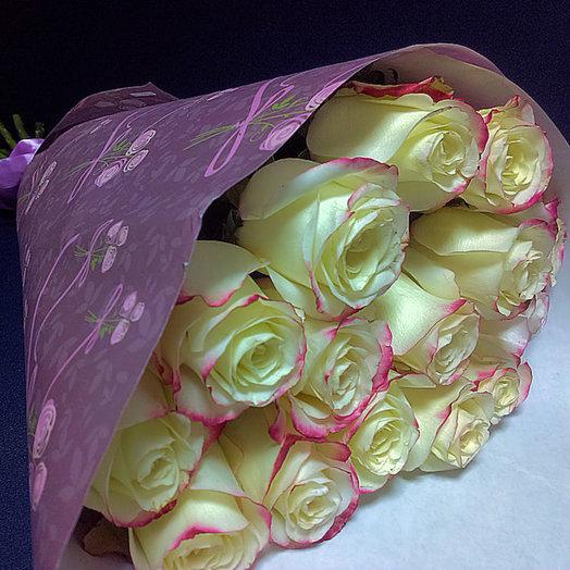 Букет из 15 Премиум-роз Эквадор: букеты цветов на заказ Flowwow
