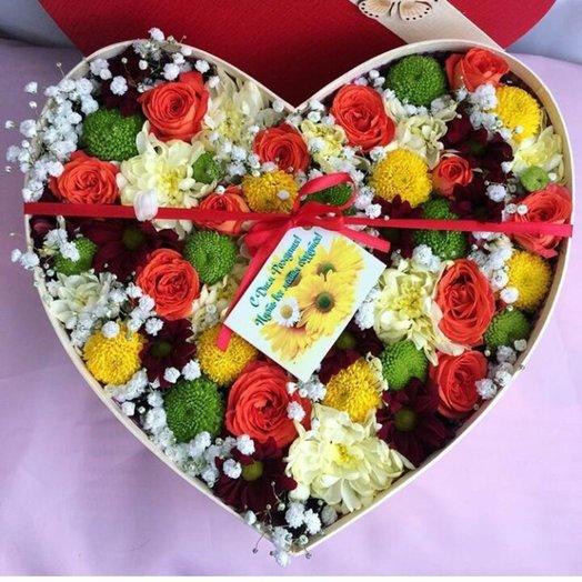 Цветочное признание: букеты цветов на заказ Flowwow