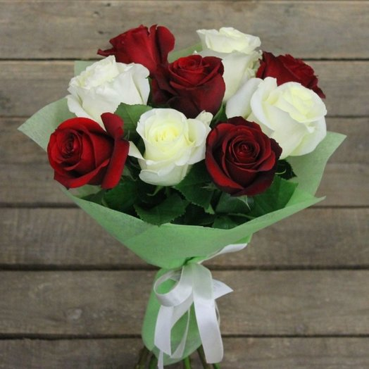 Букет из 9 роз