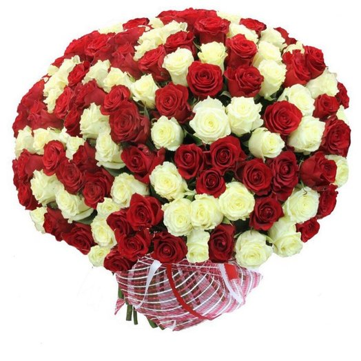 Букет из 101 розы): букеты цветов на заказ Flowwow