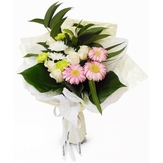 Наслаждающийся миром: букеты цветов на заказ Flowwow