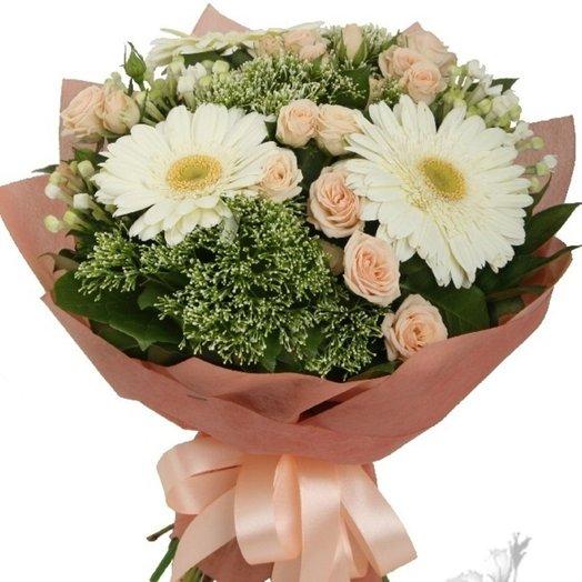 Персиковый: букеты цветов на заказ Flowwow
