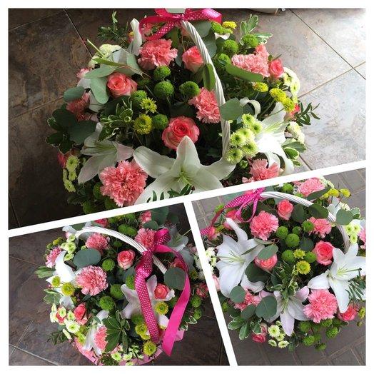 "Корзина ""Марианна"": букеты цветов на заказ Flowwow"