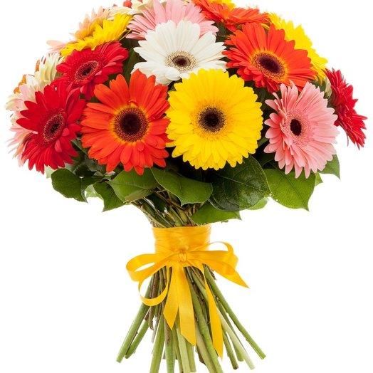 Букет ярких гербер: букеты цветов на заказ Flowwow